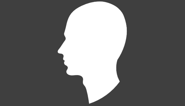 600x346 Grey Background White Head Clip Art