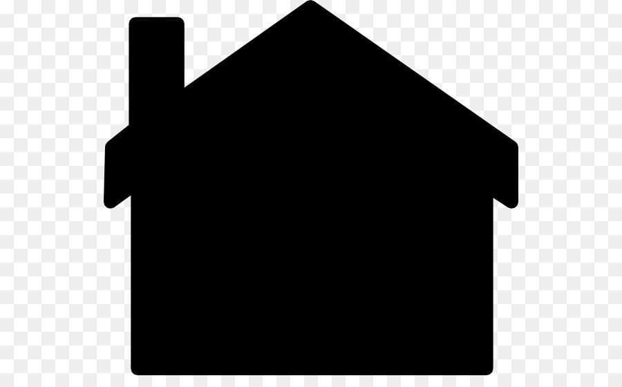 900x560 Silhouette House Clip Art