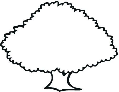 453x350 Oak Tree Outline Oak Tree Silhouette Free Oak Tree Silhouette Clip