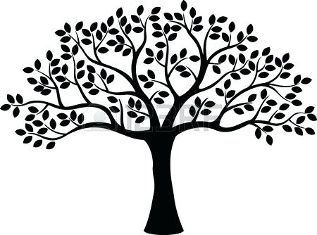 450x334 Black And White Tree Tree Silhouette Vector Black And White Tree