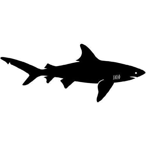 500x500 Shark Silhouette