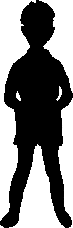 893x2778 8 Boy Silhouette (Png Transparent)