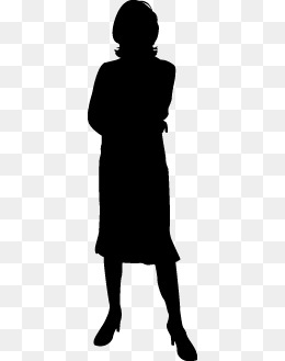 260x329 Black And White Silhouette Png Images Vectors And Psd Files