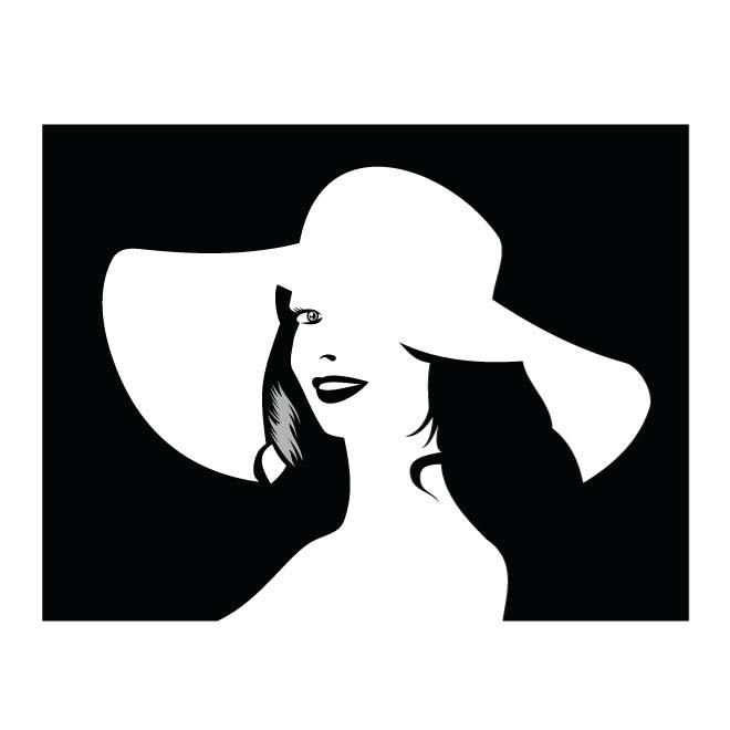 660x660 White Silhouette Of Woman Free Vectors Ui Download