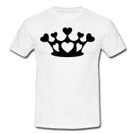 190x190 Shop Crown Silhouette T Shirts Online Spreadshirt