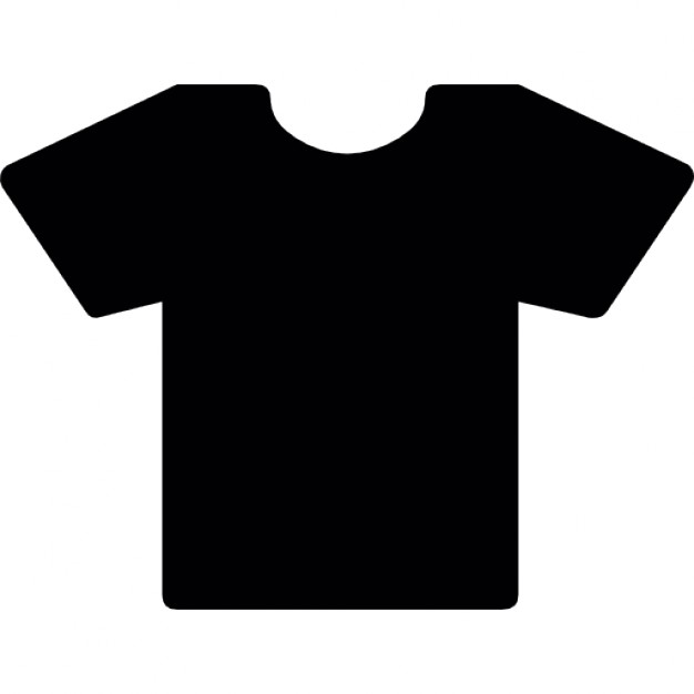 626x626 T Shirt Silhouette Icons Free Download