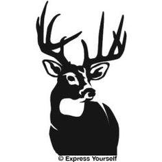 236x236 Black Deer Silhouette Tote Bag By Chastity Hoff (18 X 18).