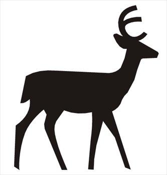 333x350 Free Deer Clipart Clipart Panda