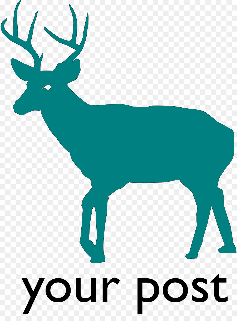 900x1220 White Tailed Deer Silhouette Clip Art