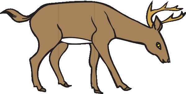 600x305 Deer Siluet Pictures Whitetail Deer Silhouette Running Clipart