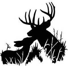 239x239 Whitetail Deer Silhouette Whitetail Deer Head Silhouette