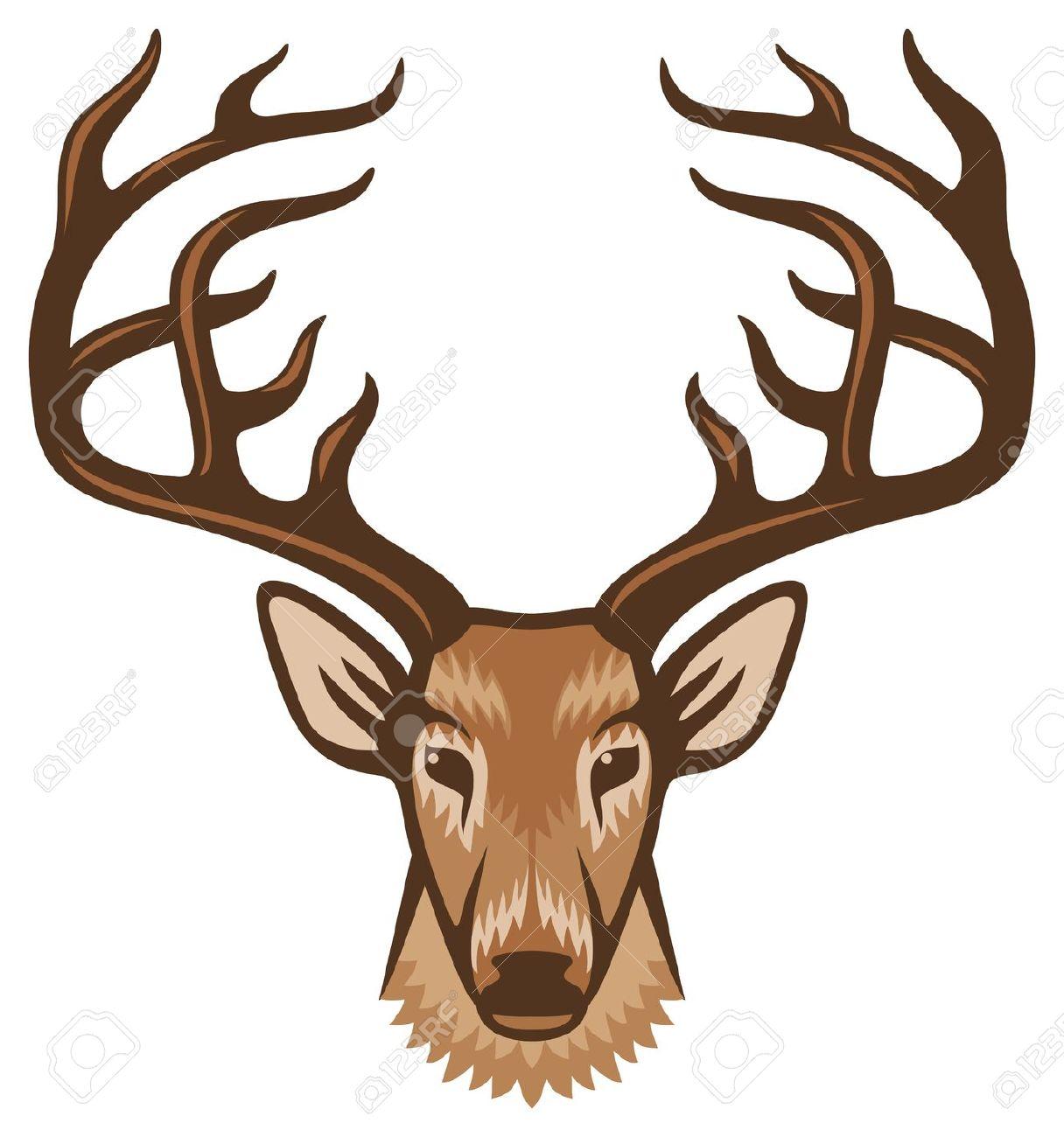 1216x1300 Deer Head Clipart