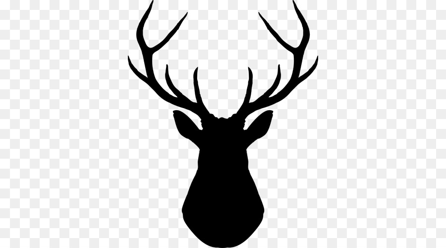 900x500 White Tailed Deer Silhouette Clip Art