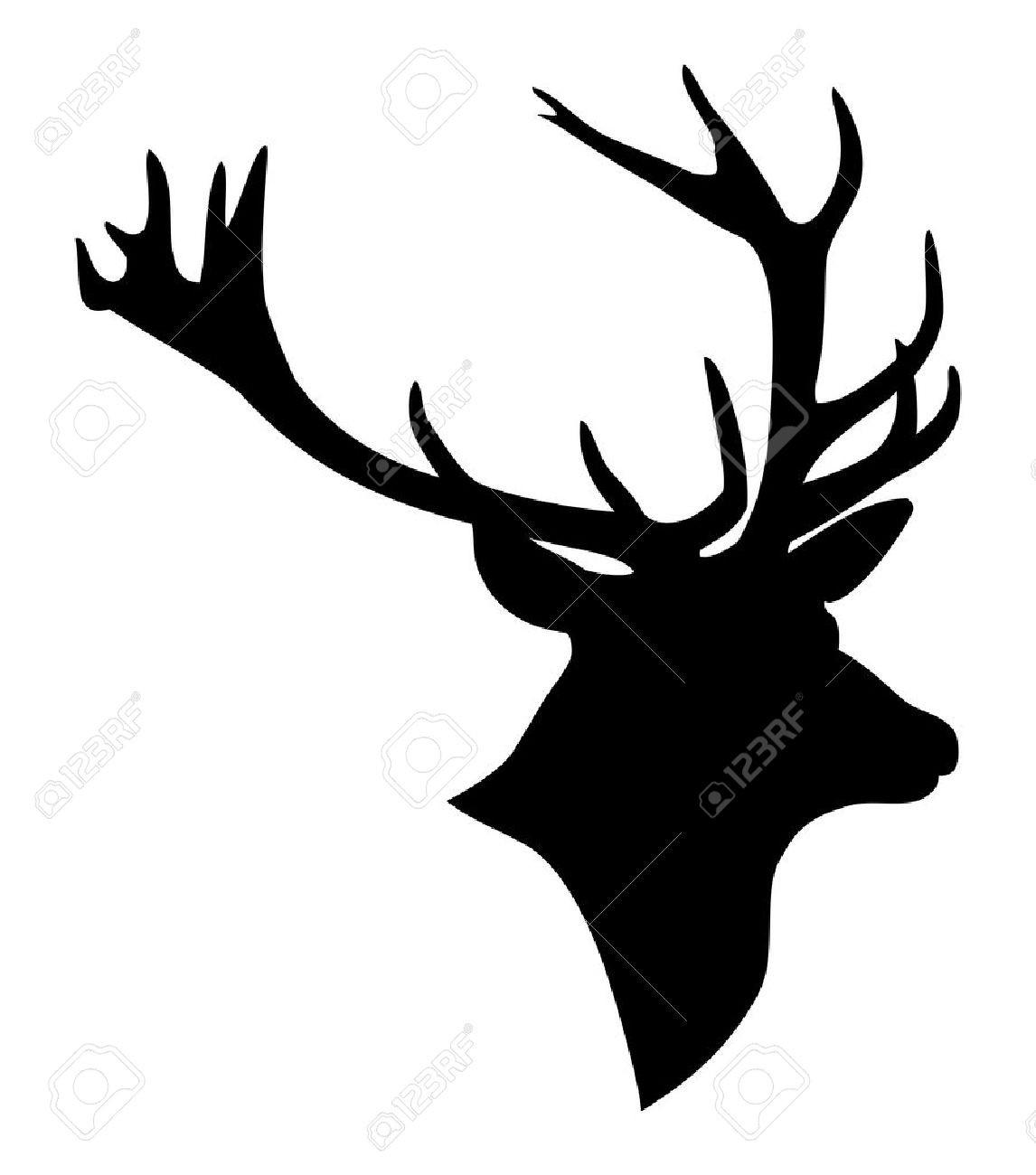 1146x1300 Best Whitetail Deer Skull Clipart Free Clip Art Images Drawing