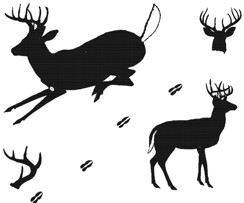 500x416 Animals For Whitetail Deer Silhouette Animals
