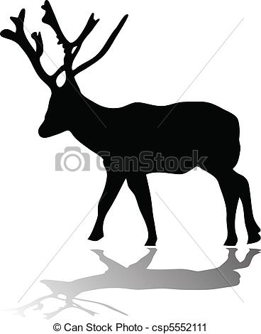 368x470 Whitetail Deer Buck Silhouette Illustrations And Clipart. 49