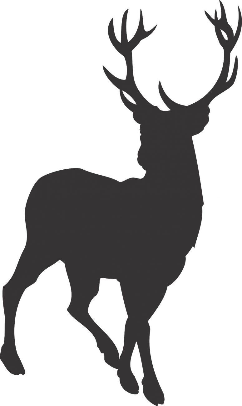 775x1297 Best Free Whitetail Deer Silhouette Clip Art Design Clip Art