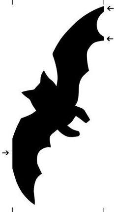 236x429 Bat Silhouette Stencil D Silhouette Bat Silhouette