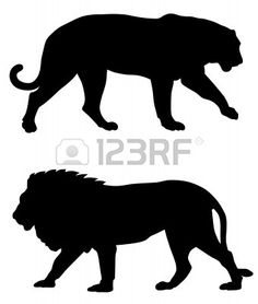 236x278 Wild Animal Silhouettes Printables [Homeschool]