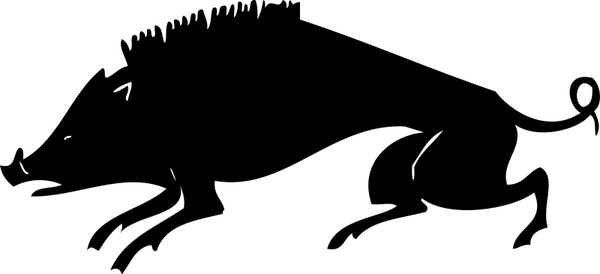 600x274 Boar Free Vector In Open Office Drawing Svg ( Svg ) Vector