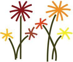 236x202 Wild Flower Wreath Papercut 5x5 Card Silhouette Design