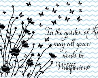 340x270 Wildflower Svg Etsy