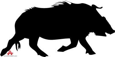Wild Hog Silhouette