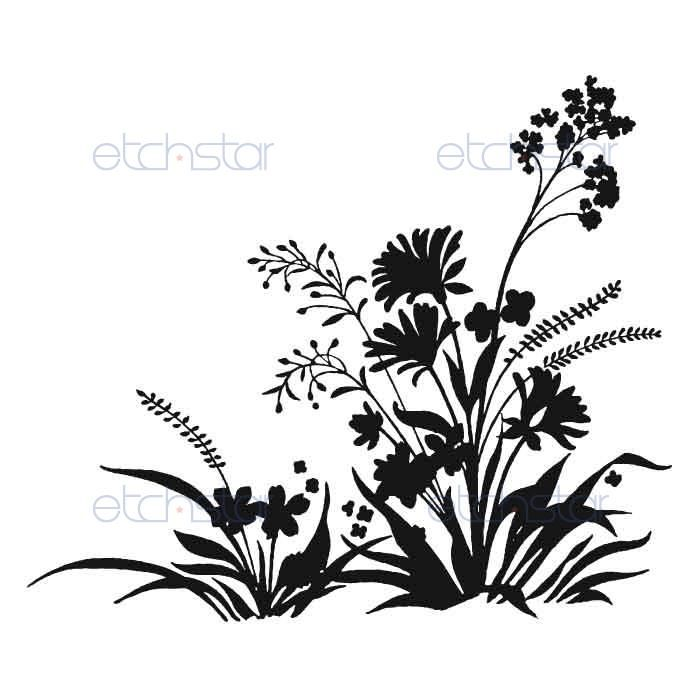 700x700 Wildflower Silhouette Arty Stuff Wildflowers, Clip