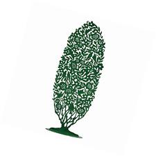 225x225 Willow Tree Green Tree Nativity Silhouette Stainless Iron Figurine