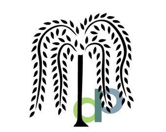 340x270 Willow Tree Svg Etsy