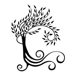 Willow Tree Silhouette Clip Art