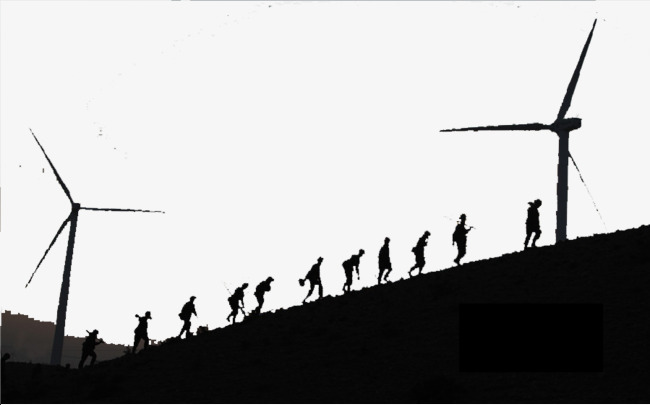650x405 Long Climb Soldier Silhouette, The Long March, Climb, Soldier Png