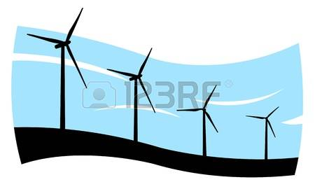 450x270 Wind Turbine Clipart