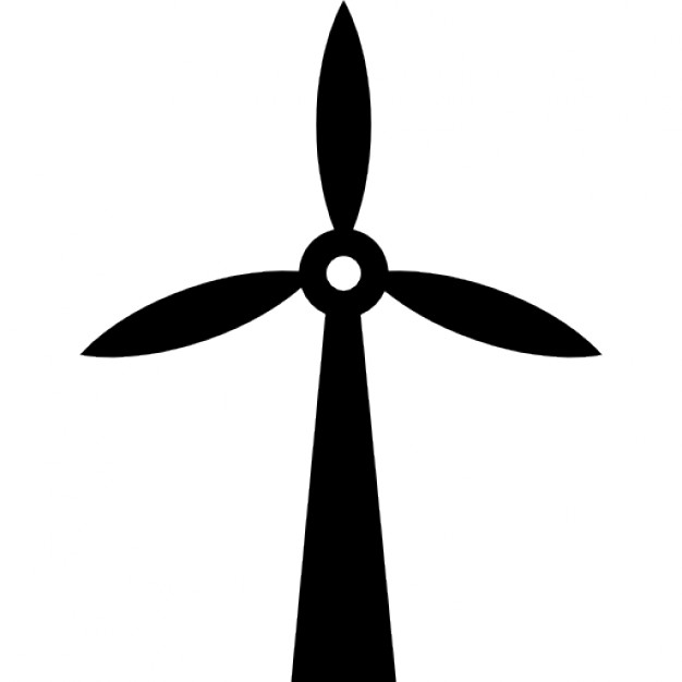 626x626 Wind Mill Silhouette Icons Free Download