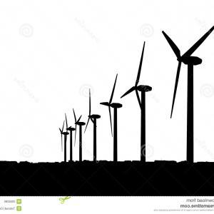 300x300 Wind Turbine Clipart No Background