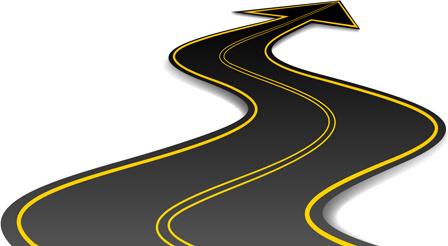 winding road silhouette at getdrawings com free for personal use rh getdrawings com winding road clipart winding road sign free clipart