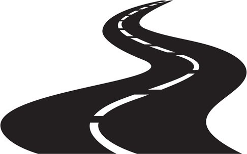 486x304 Amazing Winding Road Clipart Free Free Winding Road Silhouette