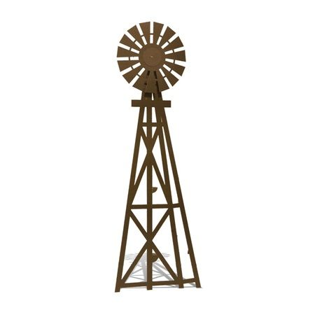 450x450 Way Out West Windmill Silhouette Kit Prom Windmill