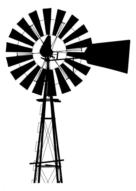 Farm Windmill Drawing At Getdrawings Com