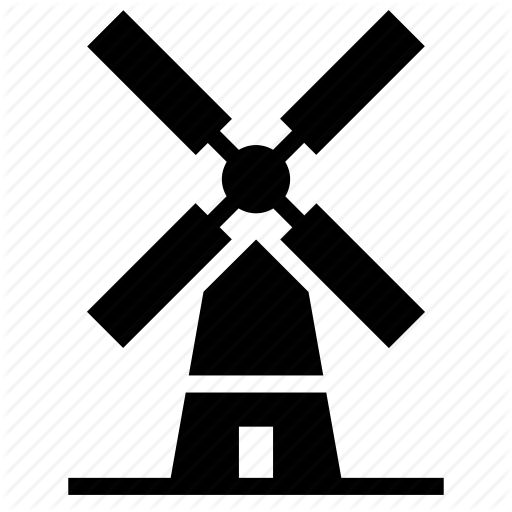 Windmill Silhouette at GetDrawings com | Free for personal use