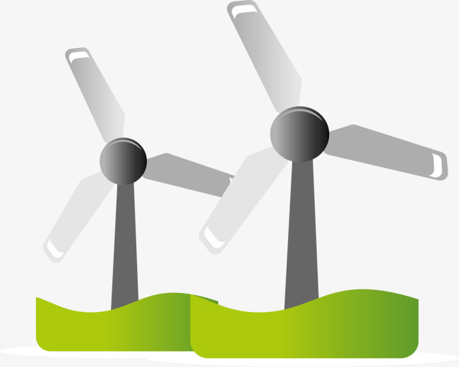 650x520 Vector Wind Turbines, Wind Turbines, Vector, Windmill Png