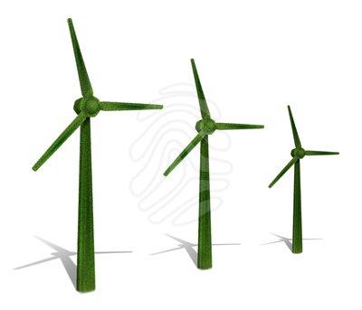 400x343 Wind Turbine Clipart Windmill