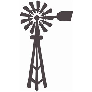 300x300 Windmill Silhouette Design, Windmill And Silhouettes