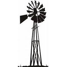 236x236 Windmills Silhouettes Vector Free Svg Files