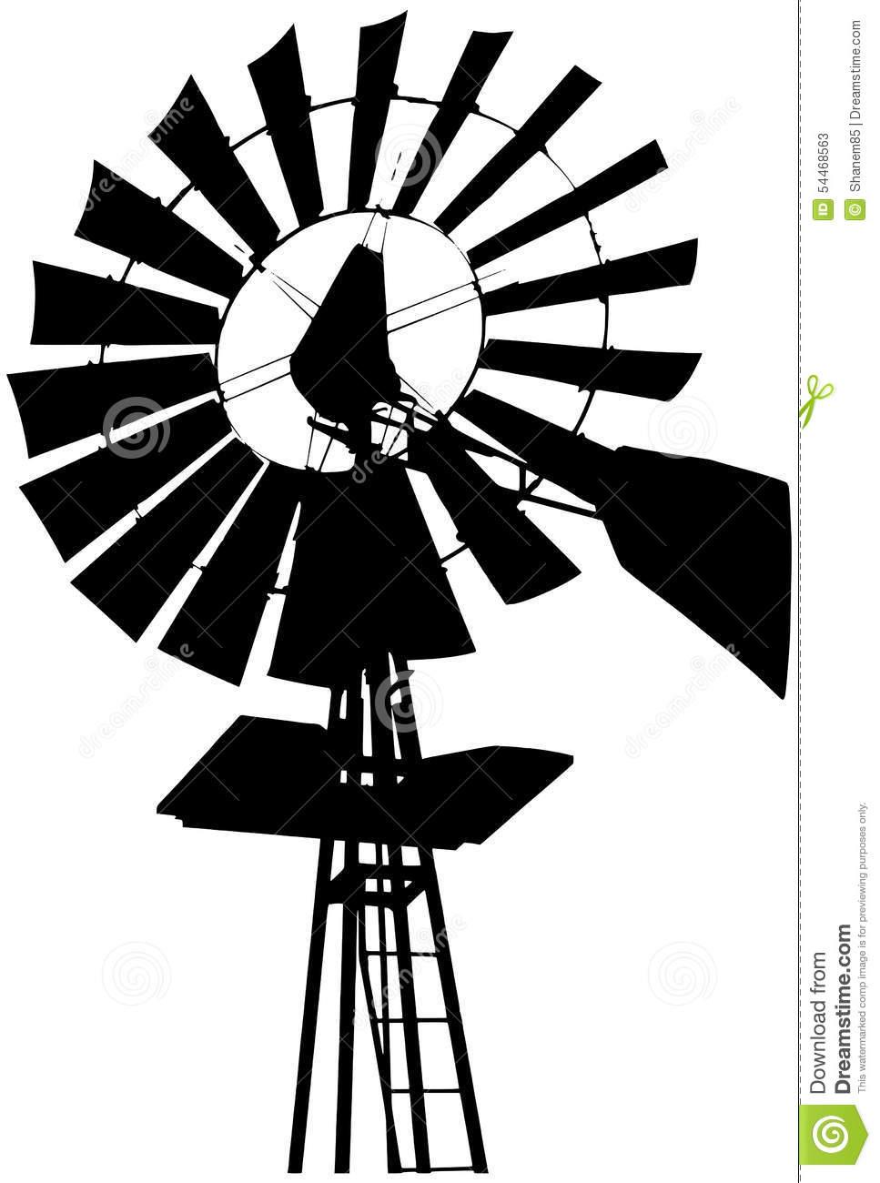 967x1300 Farm Windmill Silhouette Barn Graphic Ideas Farm