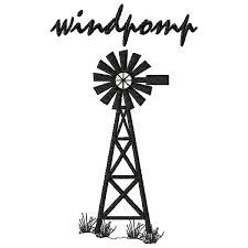 225x225 Silhouette Of Farm Windmill Windmill Silhouette Related Keywords