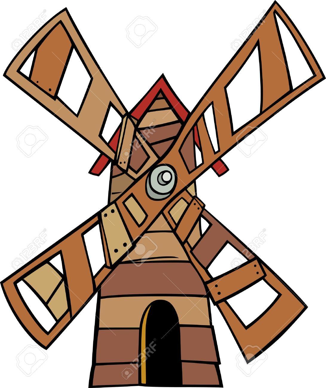 1091x1300 Clipart Windmill