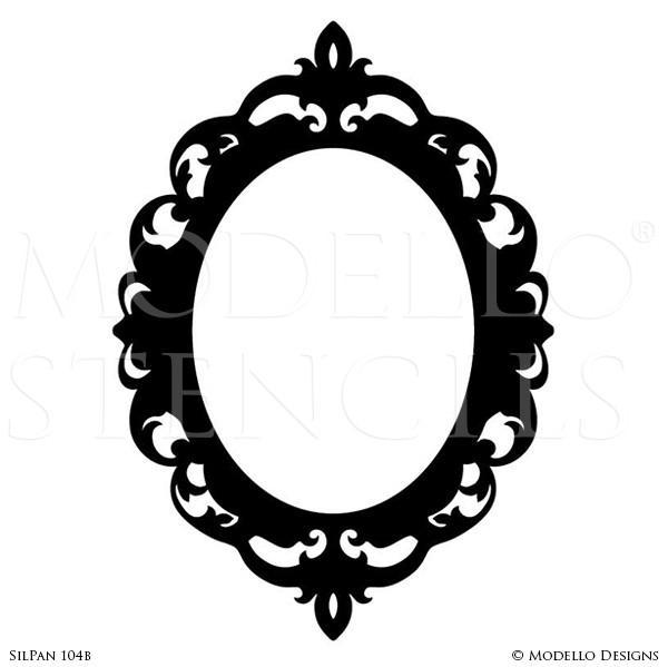 600x599 Silhouette Stencils – Modello® Designs