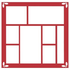 236x236 Christmas Window Frame Window Frames, Silhouette Design And Card