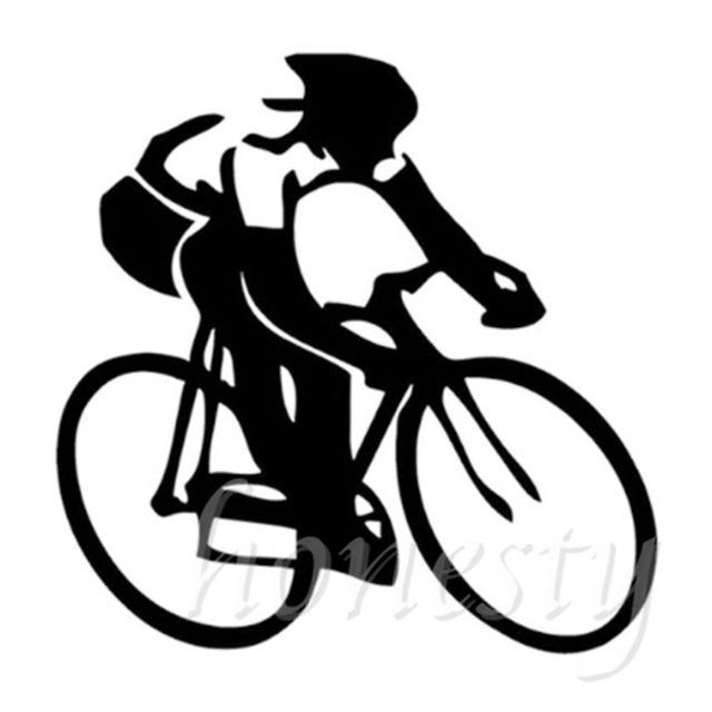 640x640 Cycling Sports Wall Home Glass Window Door Car Sticker Laptop Auto